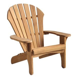 Oneill Atlantic Wood Adirondack Chair by Rosecliff Heights