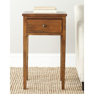 Abel End Table With Storage By Safavieh