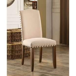 Darby Home Co Amald Transitional Solid Wood Dining Chair (Set of 2)
