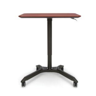 Mesa Series Adjustable Mobile Podium Laptop Cart by OFM