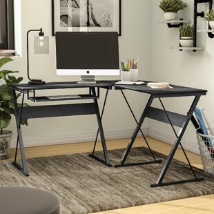 Manufactured Wood L-Shape Computer Desk by Symple Stuff Savings