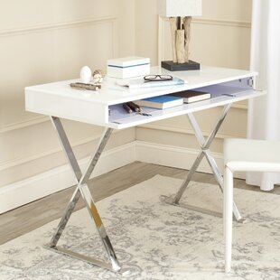 Read Reviews Gordon Campaign Writing Desk by Safavieh