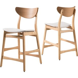 Laceyville 24 Bar Stool (Set of 2) Wade Logan