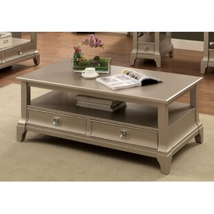 Mcelfresh Contemporary Coffee Table with Storage