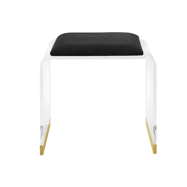 Swell Modern Contemporary Lucite Vanity Chair Allmodern Bralicious Painted Fabric Chair Ideas Braliciousco