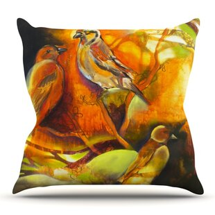 Reflecting Light By Kristin Humphrey Outdoor Throw Pillow by East Urban Home