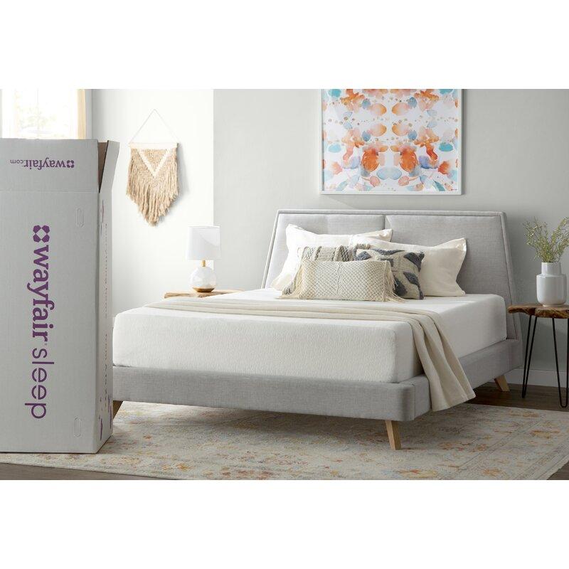 """Wayfair Sleep 10"""" Medium Memory Foam Mattress & Reviews   Wayfair"""