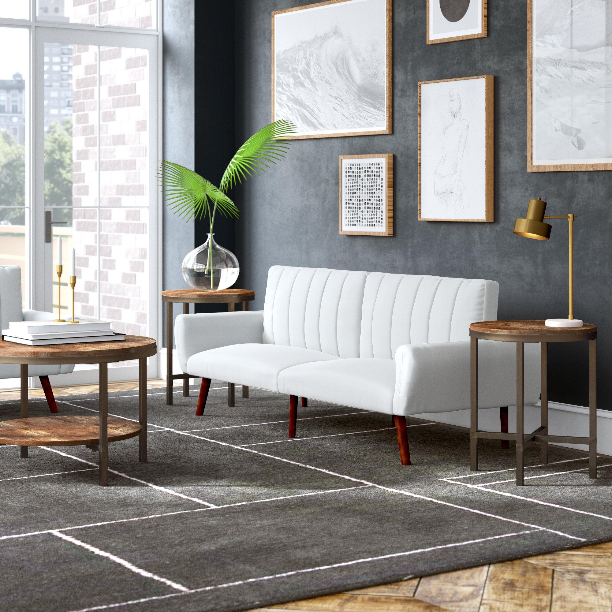 Mercury Row Absher 3 Pieces Coffee Table Set Reviews Wayfair