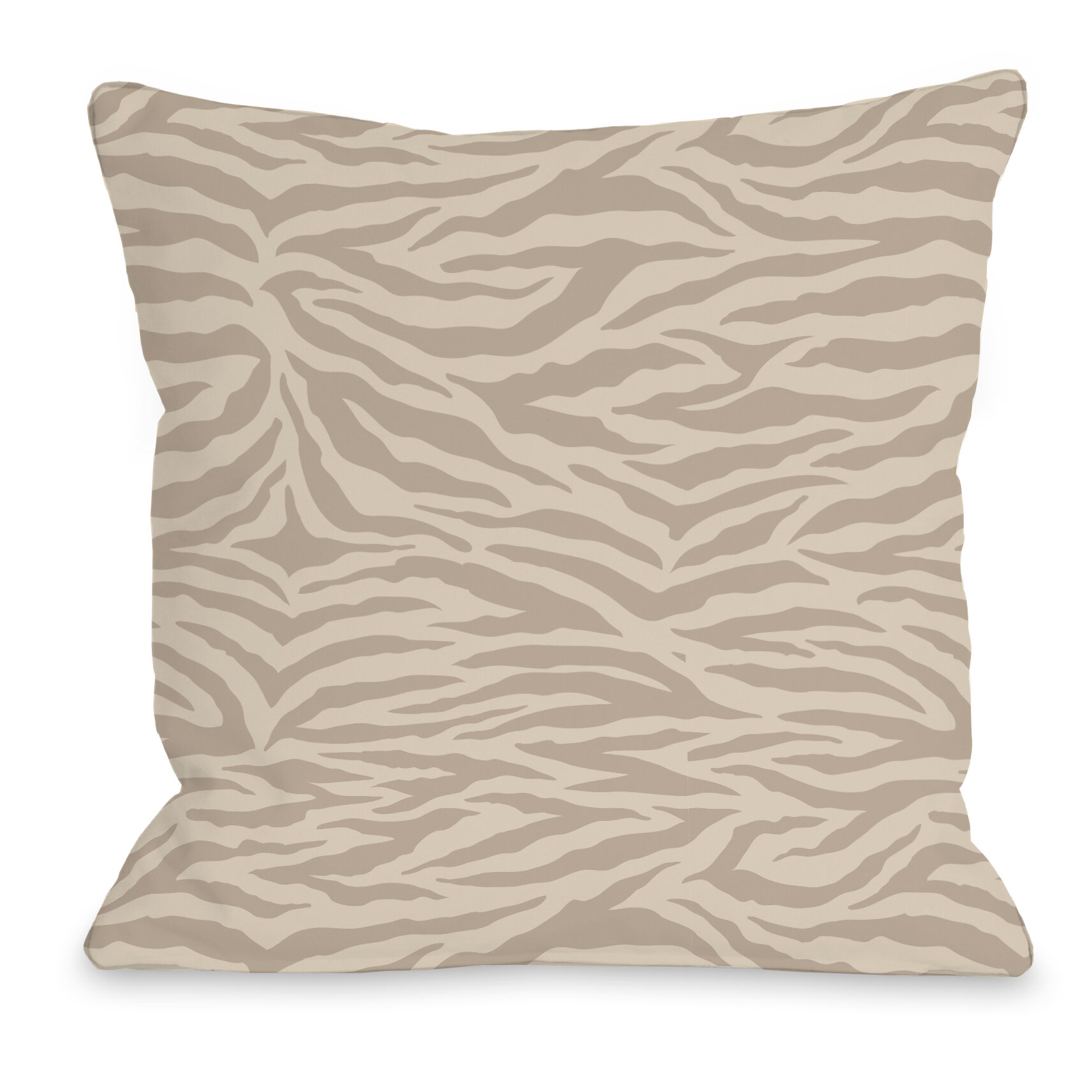 One Bella Casa Sara Zebra Throw Pillow Wayfair