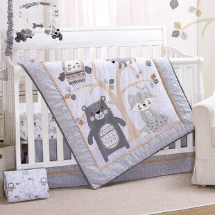 Woodland Friends 3 Piece Crib Bedding Set
