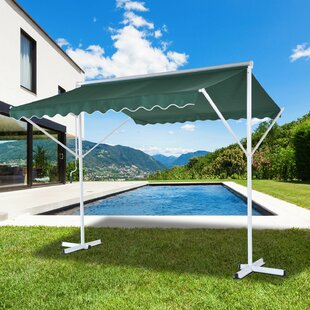 Spearman 2.5m X 2.5m Metal Pergola By Sol 72 Outdoor