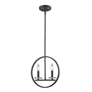 Z-Lite Favela 2-Light Geometric Chandelier