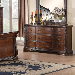 Farrington 9 Drawer Standard Dresser by Astoria Grand