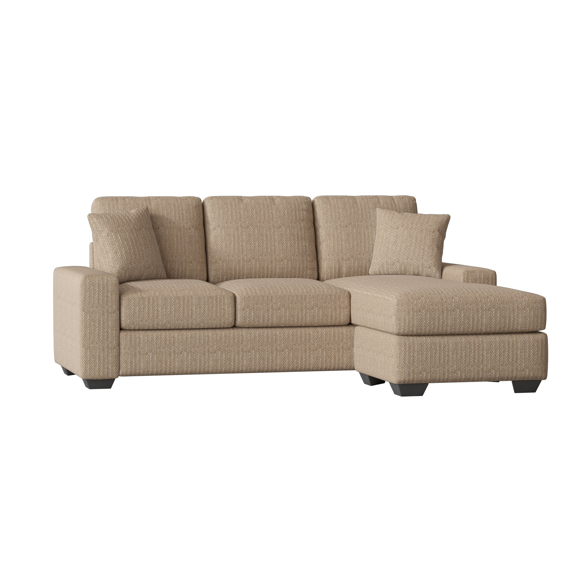 Amazing Harpe Right Hand Facing Sofa Sectional Pabps2019 Chair Design Images Pabps2019Com