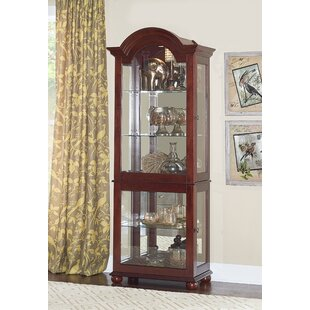 Fernville Lighted Curio Cabinet by Alcott Hill