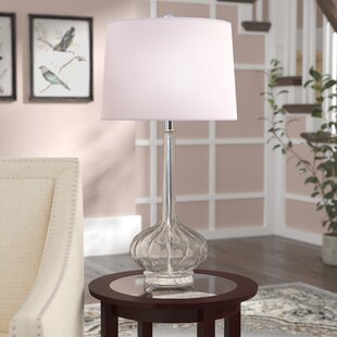 Fairbairn Glass Teardrop 29 Table Lamp (Set of 2)