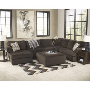 Erewaker Sectional  sc 1 st  Wayfair : u shaped reclining sectional - Sectionals, Sofas & Couches