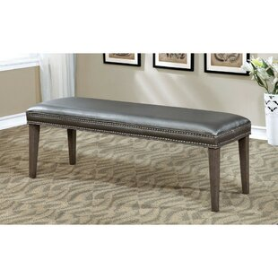 Duhon Wood Bench by Mercer41