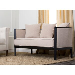 Bunker Lake Loveseat by Latitude Run
