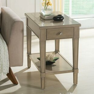 Darby Home Co Catalpa Chairside Table