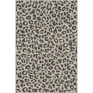 Munguia Brown/Gray Indoor/Outdoor Area Rug