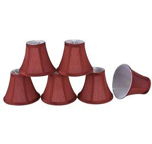 6 Silk Bell Candelabra Shade (Set of 6)