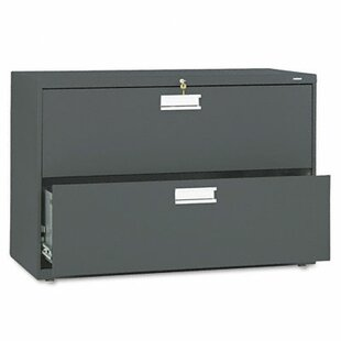 HON Brigade 600 Series 2-Drawer Lateral Filing Cabinet