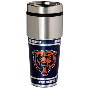 NFL Stainless Steel Travel 16 oz. Insulated Tumbler
