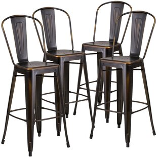 30'' Bar Stool (Set of 4) by Flash Furniture
