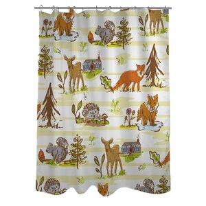 Woodland Vignettes Shower Curtain