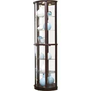 Chesapeake Narrow Lighted Curio Cabinet