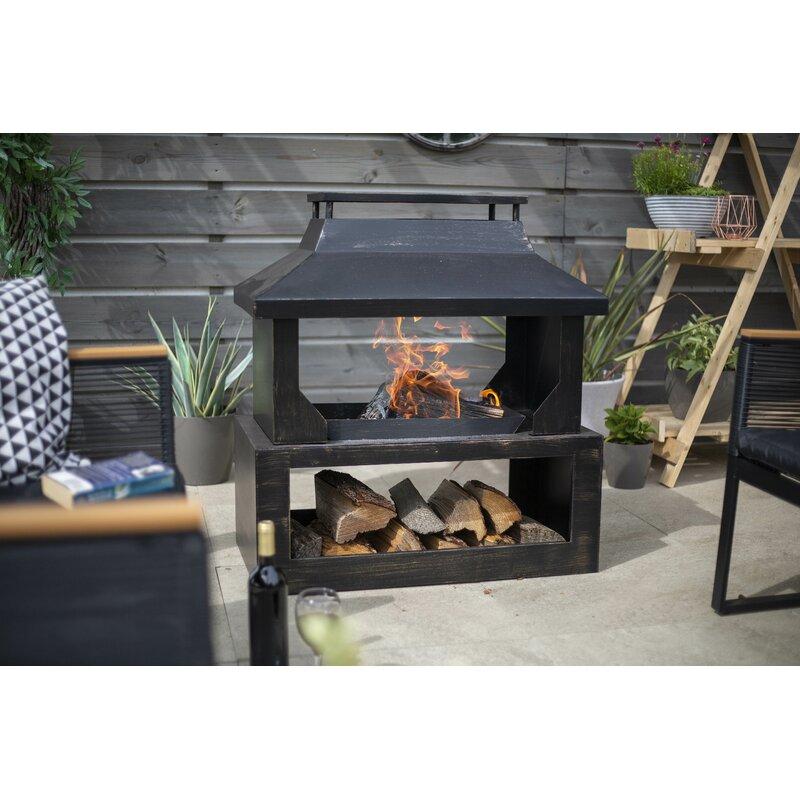 Wayfair Outdoor Fireplace - Caldwellcountytxoem.com on Quillen Steel Wood Burning Outdoor Fireplace id=62201