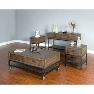Best Hobbs Coffee Table Set ByWilliston Forge