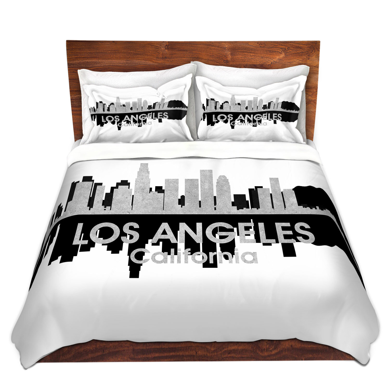 Ordinaire East Urban Home City IV Los Angeles California Duvet Cover Set | Wayfair