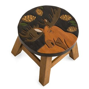 Plow & Hearth Moose Accent Stool
