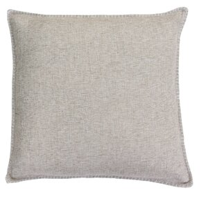 Millerville Chunky Weave Whipstitch Linen Throw Pillow Set (Set of 2)