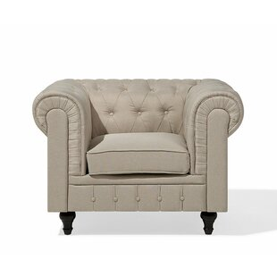 Chavez Chesterfield Chair by Alcott Hill