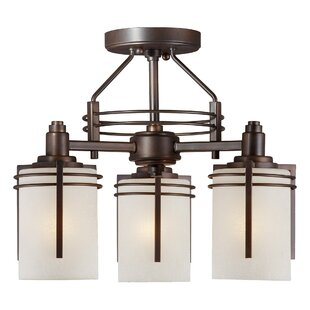 Segura 3-Light Semi Flush Mount by World Menagerie