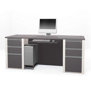 Latitude Run Karla Standard Desk Office Suite