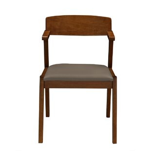 George Oliver Buckleton Set of 2 Wooden Dining Chairs