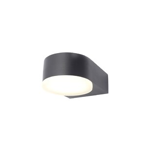 Jersi LED Outdoor Armed Sconce By Sol 72 Outdoor
