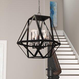Millar 4-Light Geometric Chandelier by Brayden Studio