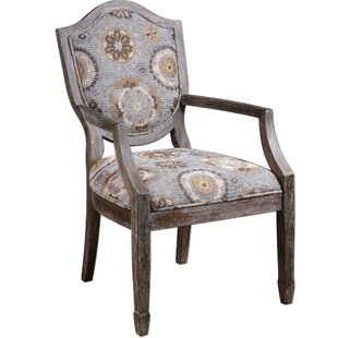 Danial Valene Weathered Armchair by Bungalow Rose