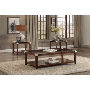 Lindy 3 Piece Coffee Table Set