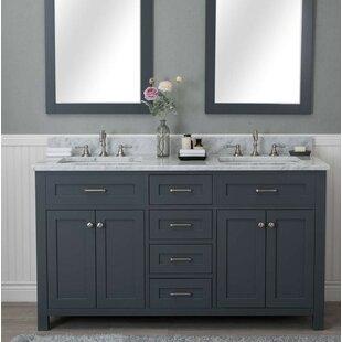 Furlow 60 Double Bathroom Vanity Set By Red Barrel Studio