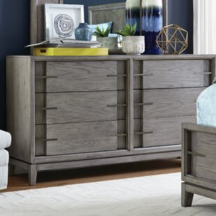 Eichhorn Wood 6 Drawer Double Dresser