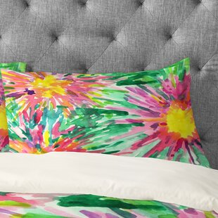 Joy Laforme Floral Confetti Pillowcase