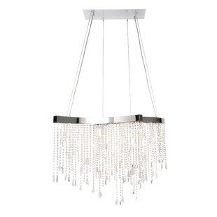 Mercer41 Christenson 14-Light LED Crystal Chandelier