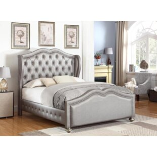 Curtis Upholstered Panel Bed by Rosdorf Park