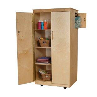 Teacheru0027s Classroom Cabinet With Doors. By Wood Designs